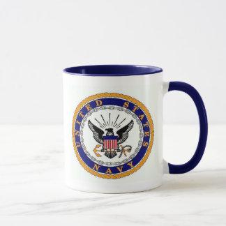 navy, Accelerate Your Life Mug