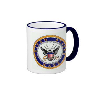 navy, Accelerate Your Life Ringer Coffee Mug