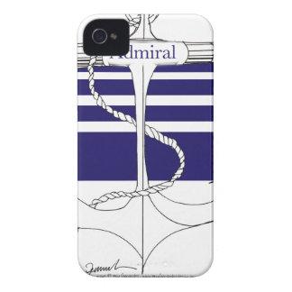 navy admiral, tony fernandes iPhone 4 case