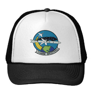 NAVY AGM-88 High Speed Anti-Radiation Missile Mili Trucker Hat