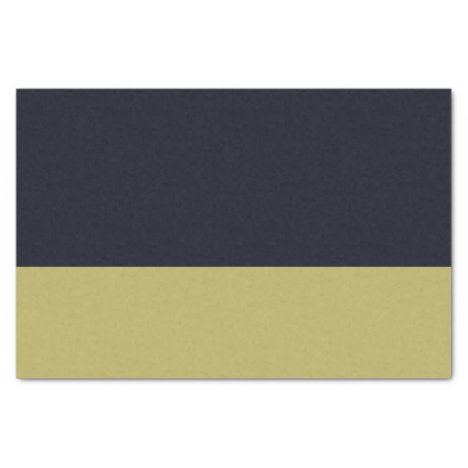 Navy and Gold 10lb Tissue Paper