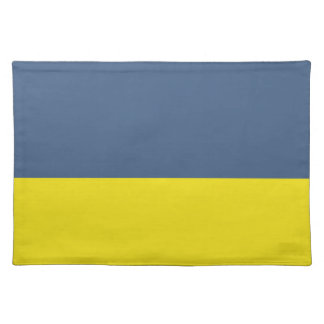 Navy and Gold Placemat Cloth Placemat