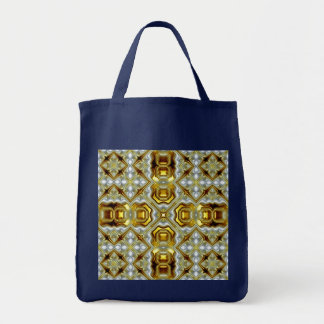 Navy and Golden Bag