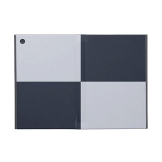 Navy and Grey Rectangles Covers For iPad Mini