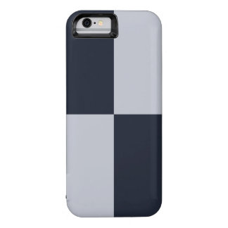 Navy and Grey Rectangles iPhone 6 Case