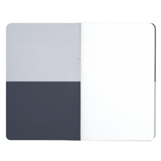 Navy and Grey Rectangles Journal