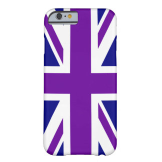 Navy and Purple Union Jack Barely There iPhone 6 Case