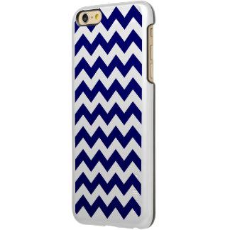 Navy and White Zigzag Incipio Feather® Shine iPhone 6 Plus Case