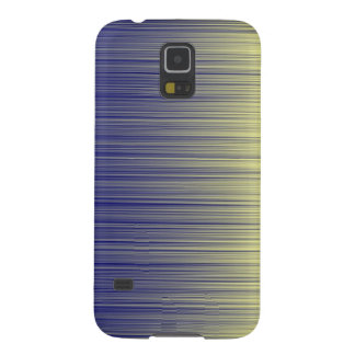 Navy and Yellow Unite Horizontal Case For Galaxy S5