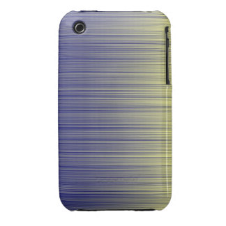 Navy and Yellow Unite Horizontal iPhone 3 Case-Mate Case