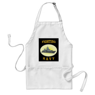 NAVY APRONS