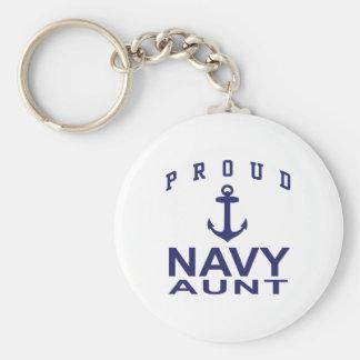 Navy Aunt Keychain