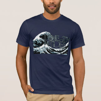 Navy Beneath The Tides Wave shirt