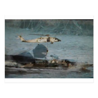 Navy Blackhawk Operations Postcard