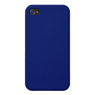 Navy Blue 4  Case For iPhone 4