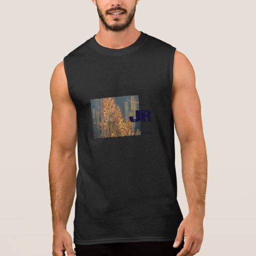 Navy Blue Aloe JR black T-Shirt