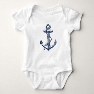 Navy Blue Anchor T-shirts