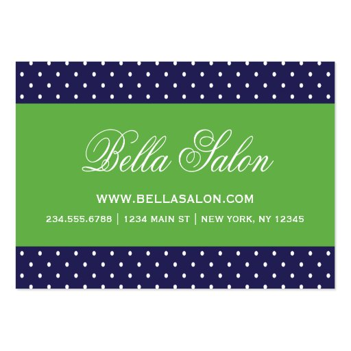 70000 polka dot business cards and polka dot business for Polka dot business card templates free