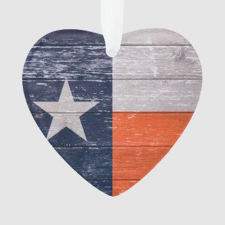 Navy Blue and Orange Texas Flag