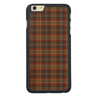Navy Blue and Red Rustic Plaid iPhone 6 Plus Case Carved® Maple iPhone 6 Plus Slim Case