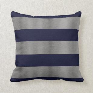 Blue Silver And Navy Pillows Decorative Amp Throw Pillows