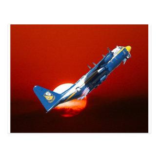 NAVY Blue Angel Take-off Postcard