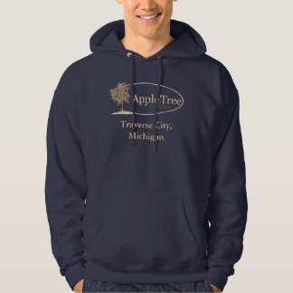 Navy blue Apple Tree Inn & Suites hoodie