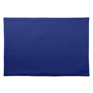 Navy Blue Background on a Placemat