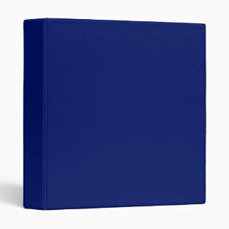 Navy Blue Binder