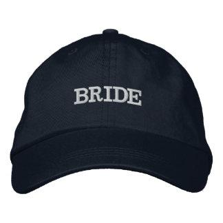 Navy Blue Bride Wedding Party Adjustable Hat
