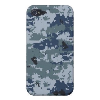 Navy Blue Camouflage iPhone 4 Speck Case