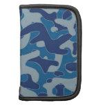 Navy Blue Camouflage Pattern Organizer