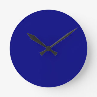 Navy Blue Wallclocks