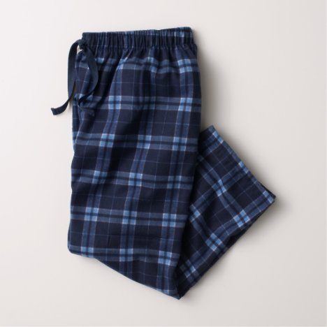 Navy Blue / Columbian Flannel Pajama Pants (Youth)