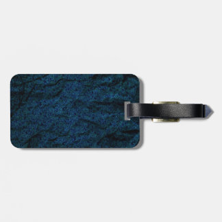 Navy Blue Crushed Paper Pattern Tags For Bags