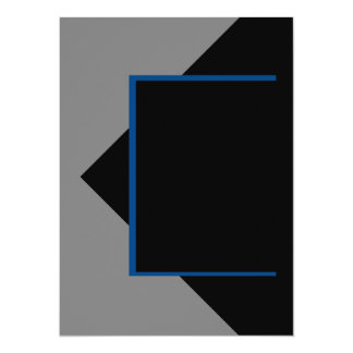 Navy Blue Dark Blue Grey Gray Color Only Tools Card
