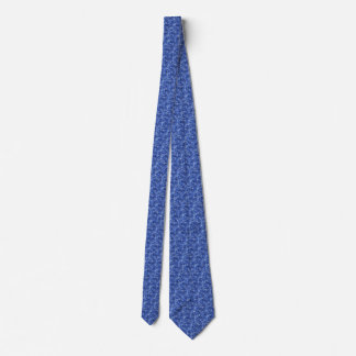 Navy Blue Digital Camo Camouflage Texture Tie