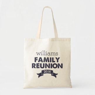 Navy Blue Family Reunion Tote Bag