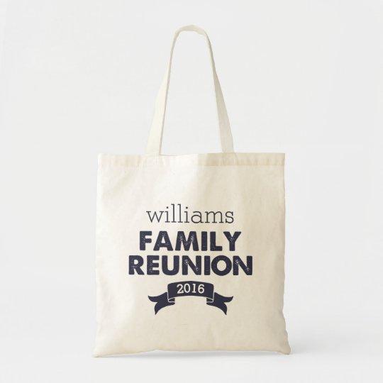 Navy Blue Family Reunion Tote Bag