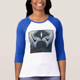 Navy Blue Fractal T-shirt