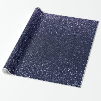 Navy blue glitter wrapping paper