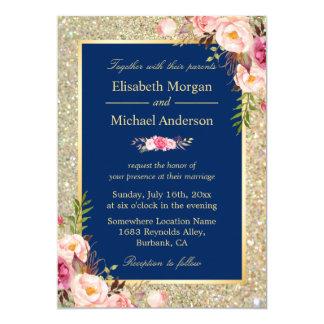 Evening dress navy blue invitations
