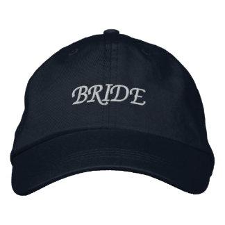 Navy Blue I'm the Bride Adjustable Hat