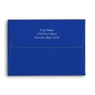 Navy Blue  Invitation or Greeting Card Envelopes