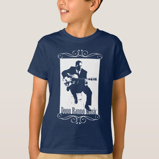 Navy Blue Kids T-Shirt