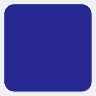 Navy Blue Large Square Sticker