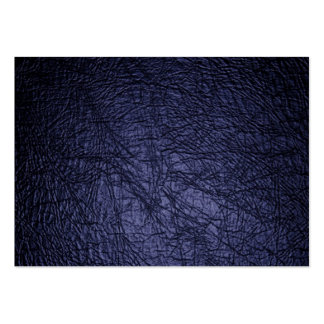 navy blue leather texture large business card
