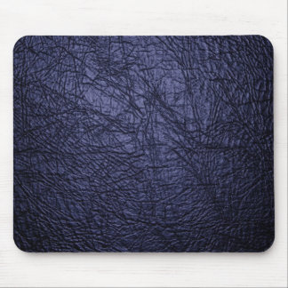 navy blue leather texture mousepads