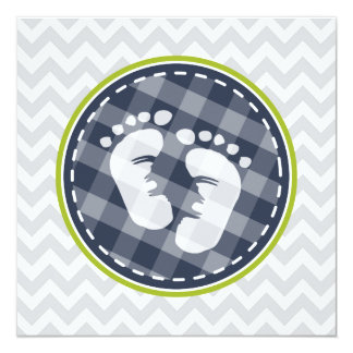 lime green baby shower invitations announcements zazzle