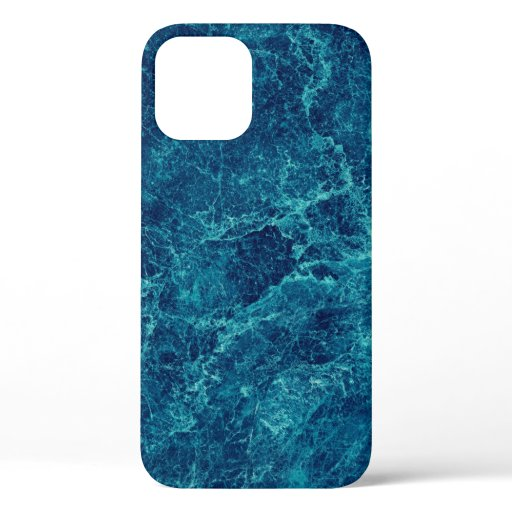 Navy Blue Marble Texture Case-Mate iPhone Case